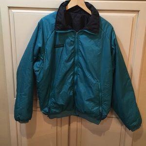 Vintage 90s Columbia reversible puffer jacket
